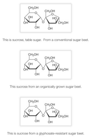Sugar structures