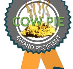 Cow Pie 2017 Award