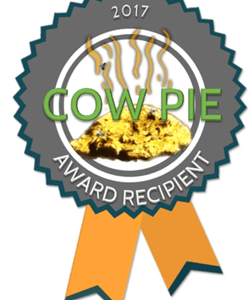 2017 Cow Pie Awards