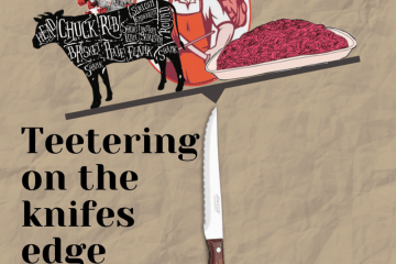 teetering on the edge of beef supply chain