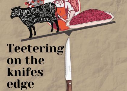 Teetering on the knifes edge