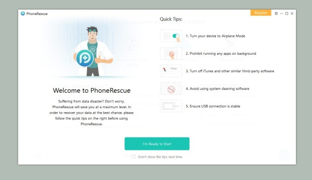 PhoneRescue 3.7.2 Crack + Activation Key 2019 Free Download [Latest]