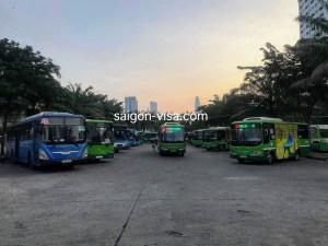 ベトナム_モクバイ国境_アライバルビザ_ホーチミン市バス_Vietmam_MocBai_Visa On Arrival_HCMC_Bus Terminal_