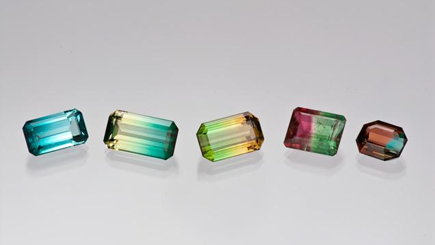Tourmaline colors GIA