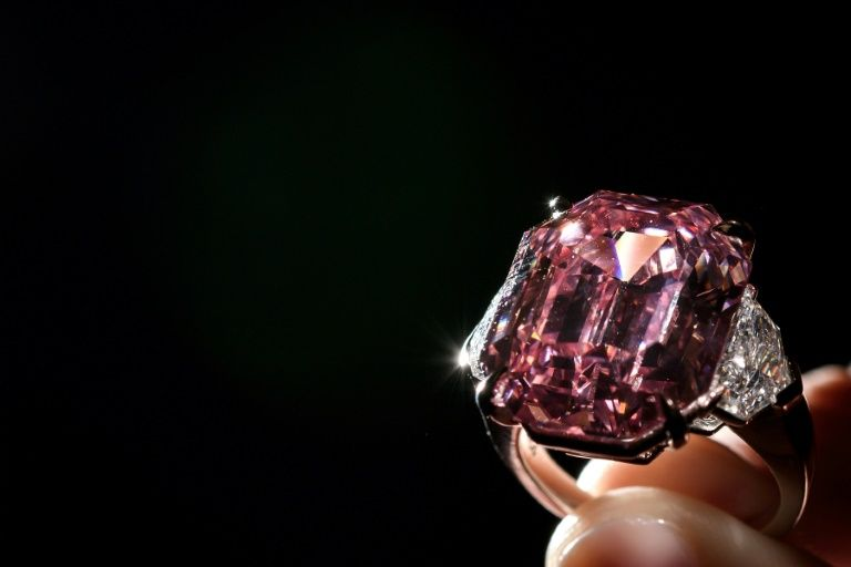 19 carat Pink Legacy Diamond
