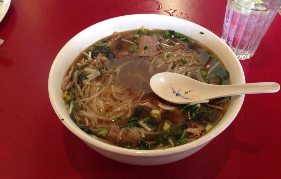 Pho was very good, $9.99 for a huge bowl