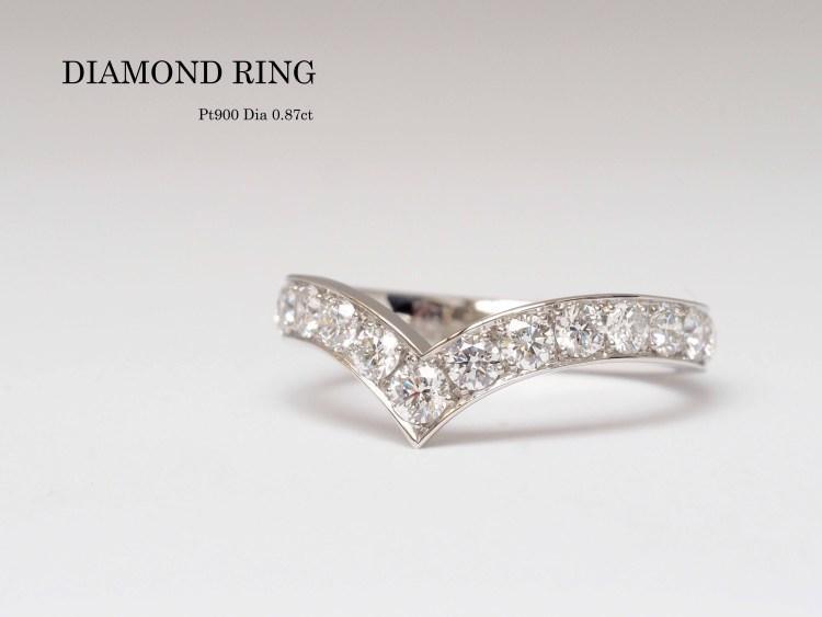 結婚指輪 マリッジリング ダイヤモンド SAIJO 森拓郎