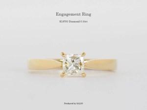 オーダーメイドジュエリー 婚約指輪 エンゲージリング ダイヤモンド SAIJO 森拓郎