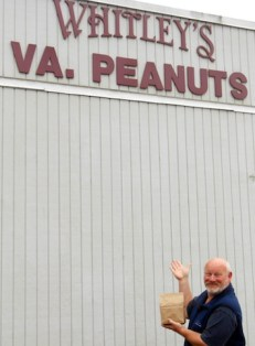 Virginia peanuts, anyone?