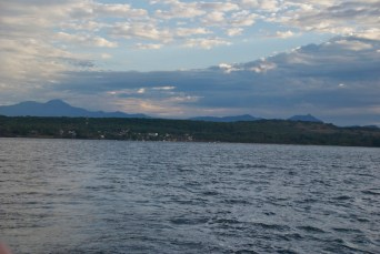Leaving Chacala at sunrise