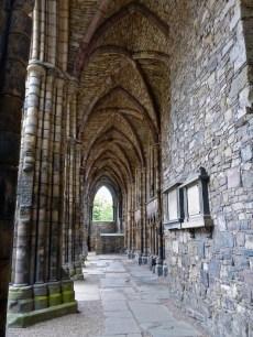 Gorgeous stonework in the abbey