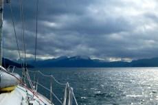 A cold day on Johnstone Strait