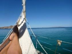 Hammock on the bow..ahh