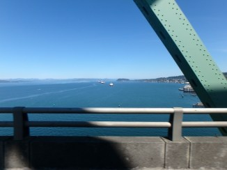 Crossing the mighty Columbia