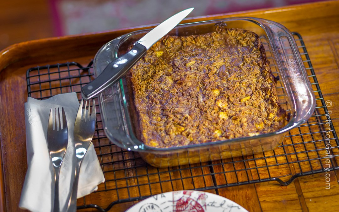 Tropical Sail Away Home Baked Oatmeal