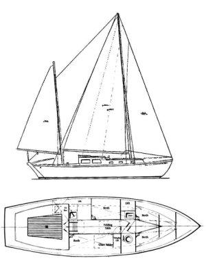 SailboatData  BERMUDA 30 (CHEOY LEE) Sailboat