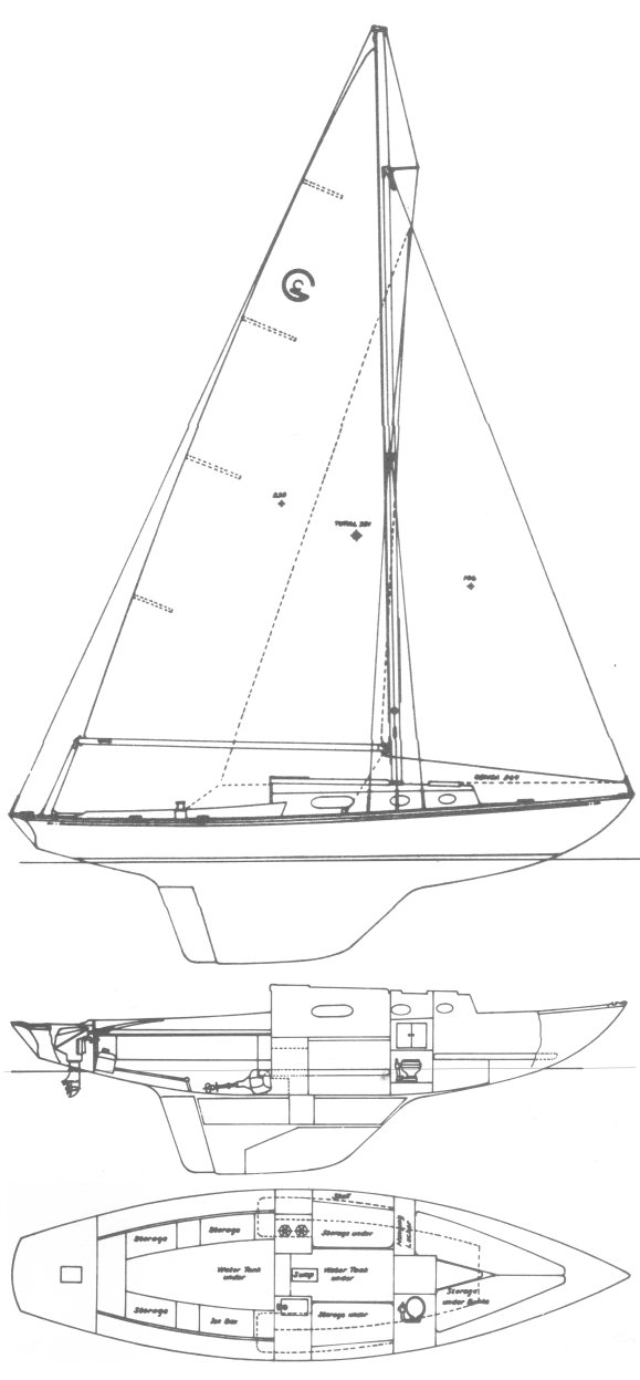 GRAVES CONSTELLATION Sailboat