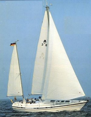 SailboatData  CONTEST 38S Sailboat