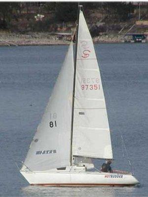 SailboatData  SANTANA 20 Sailboat