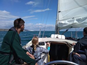 August 7 day channel sailing trip