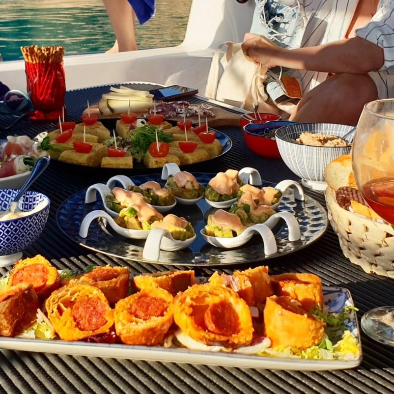 Mallorca catamaran trips tapas