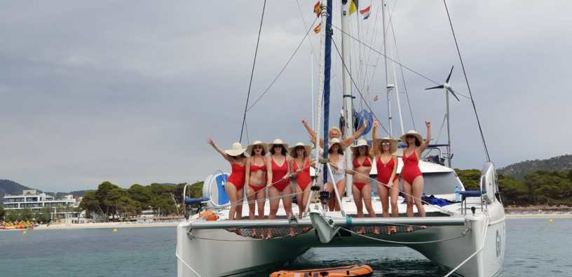 Celebrations Mallorca catamaran trips -sail go catamaran