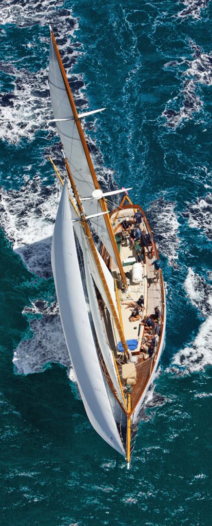 Sail Classic Yacht Heron Grenadines Charter