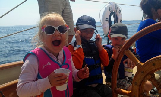 reserve your sail on HERON for fun adventures