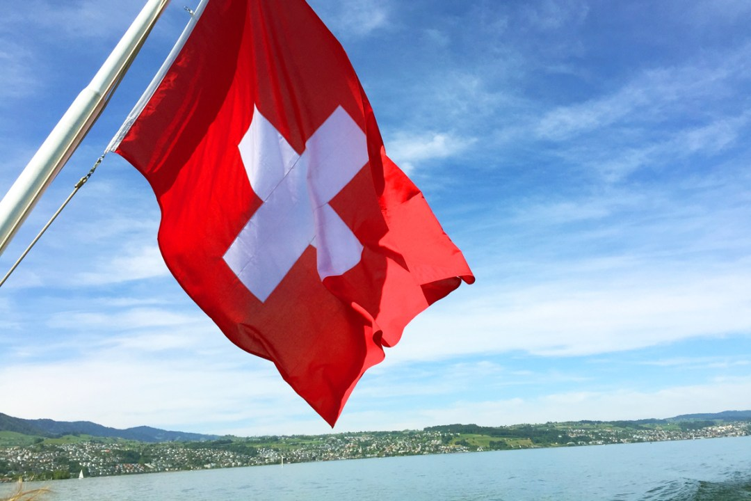 Bajka unter Schweizer Flagge