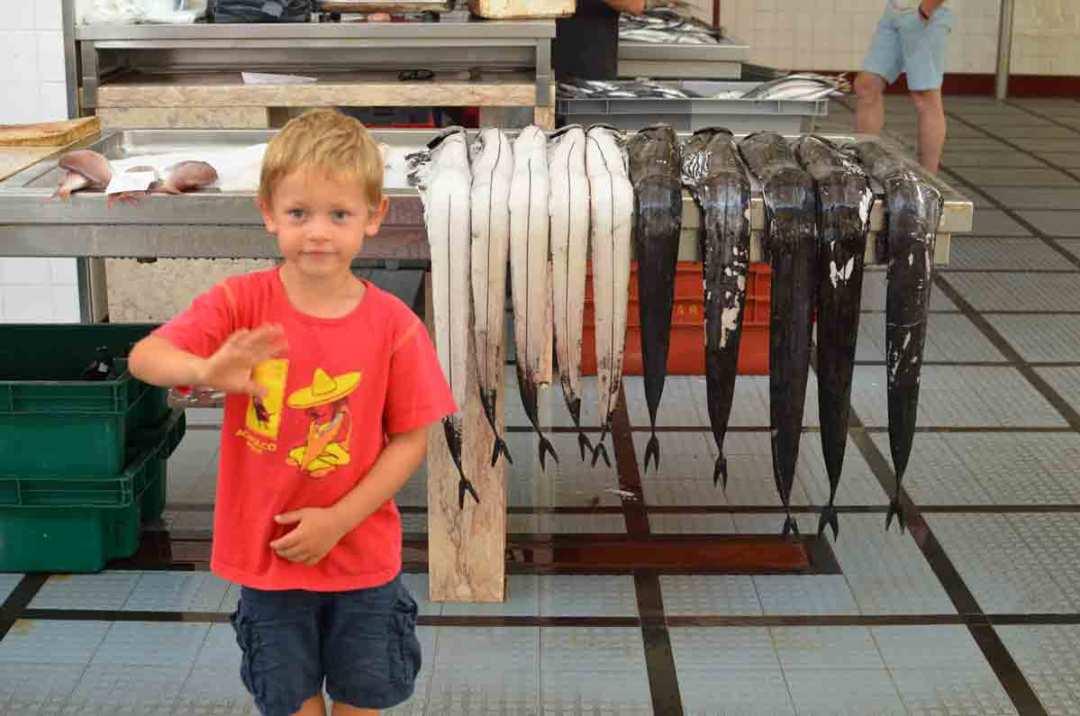 Madeira Fischmarkt