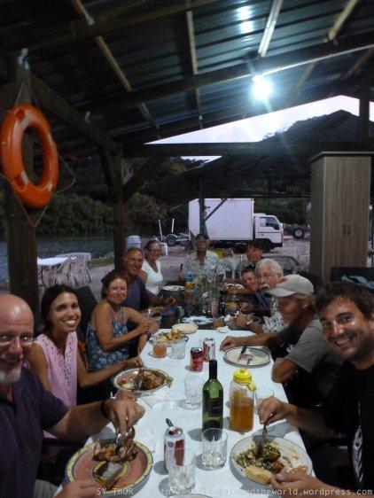 Segler aus aller Welt in Pohnpei