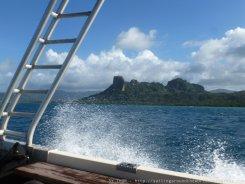 Sokehs Rock - Wahrzeichen von Pohnpei