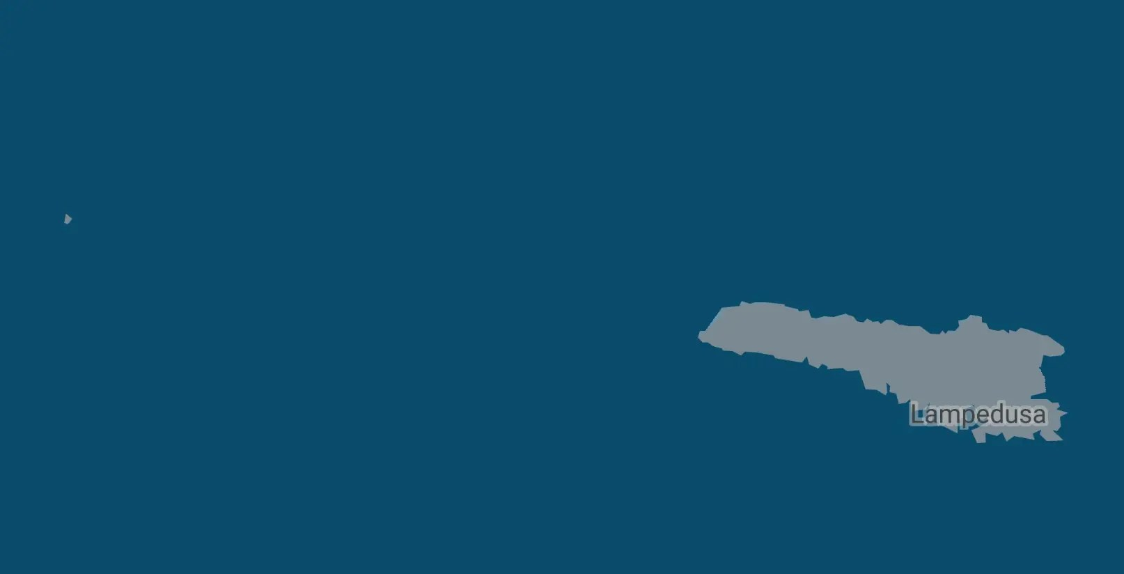 LampedusaeLampione mappa