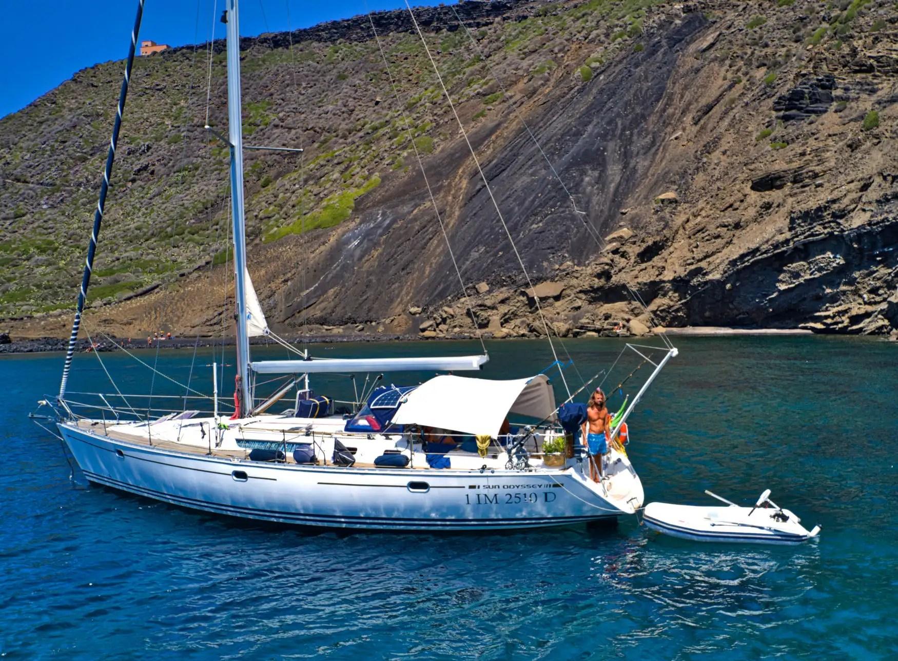 Voilier Linosa Sailing Bubbles