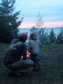 Campfire Sunset