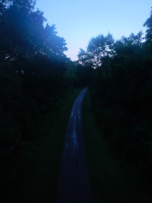 During our evening adventures, we found the Oak Leaf Trail, a gem hidden just off of Lincoln Memorial Drive..