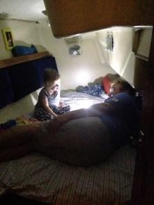 Story lantern before bedtime