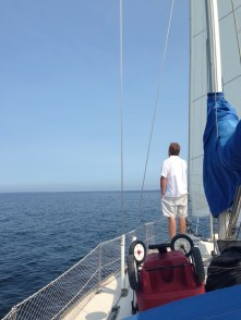 Work Call Sail to Fish Creek