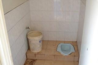 Praktisch: Dusche und Toilette in einem!