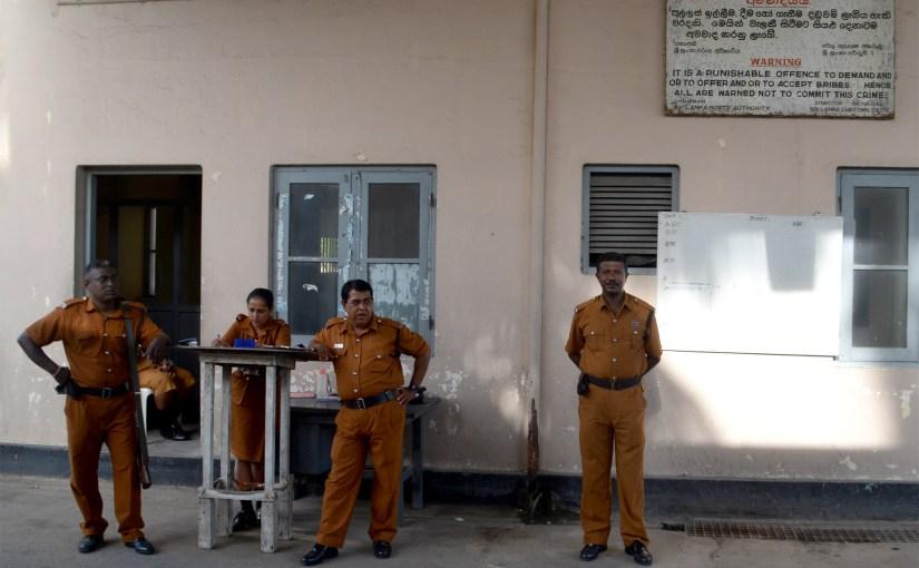 Von Security und Endgegnern in Sri Lanka