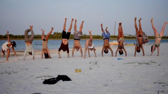 """Spaß am Strand von der Lagune """"do paraiso"""""""