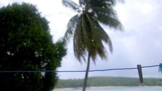 Und schon wieder Regen in der Karibik