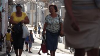 Die Straßen sind alle extrem sauber, da lohnt sich barfuß gehen
