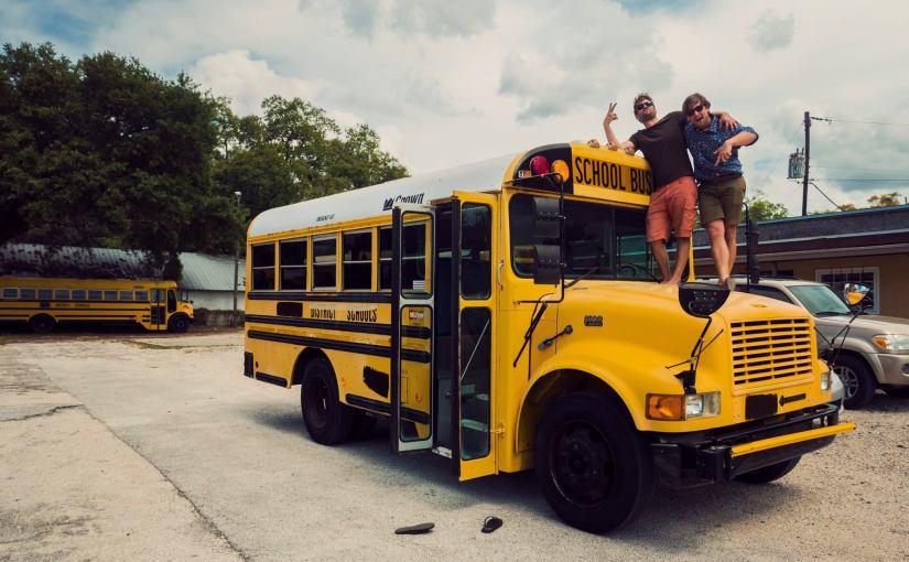 Wir haben unseren Tourbus gefunden