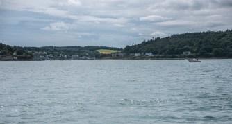 Crosshaven von See aus gesehen