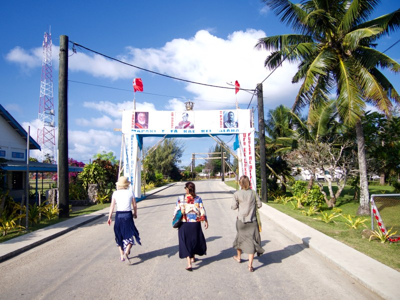 Pangai High street