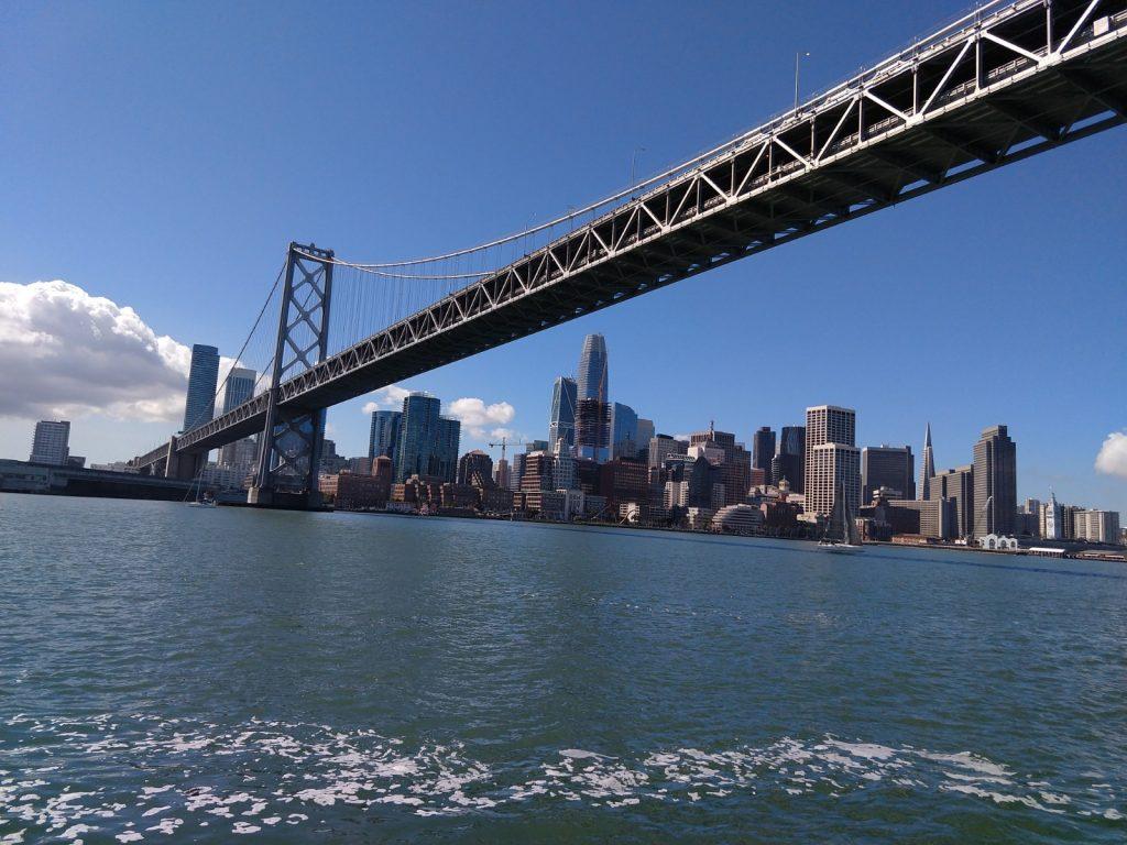 The Bay Bridge and San Francisco