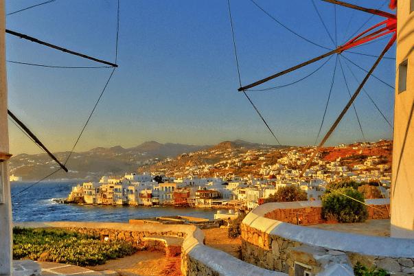 Resultado de imagen de mykonos town