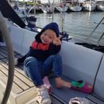 Zeilen met Isis, kinderen, sailing isis