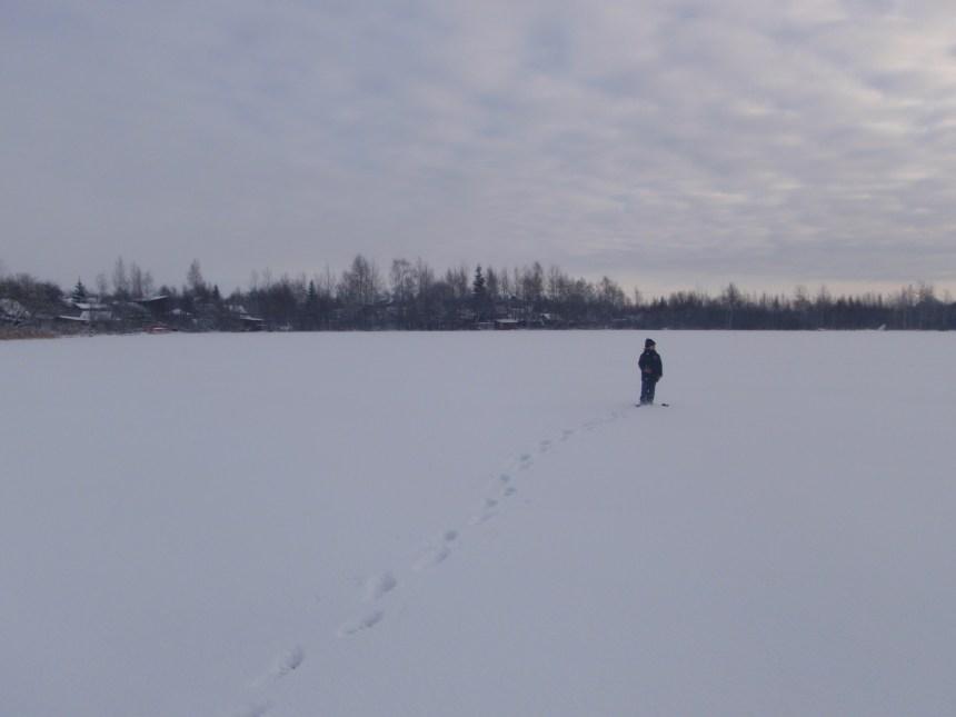 snow in russia